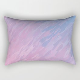 Pink camouflage Rectangular Pillow