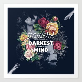 Flowers In My Mind Art Print