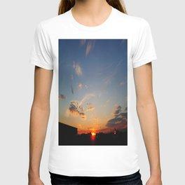 Sunset at Santa Pod T-shirt