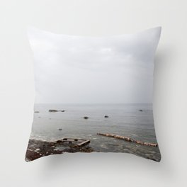 Washed out Throw Pillow