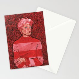 Teary Boy Stationery Cards