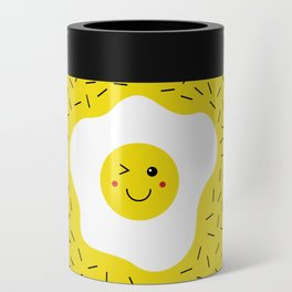 Eggs emoji Can Cooler
