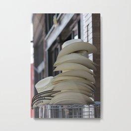 Hats Metal Print