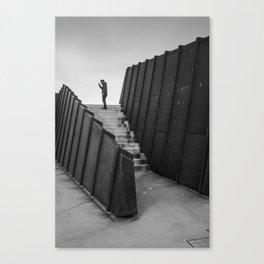 Lone Man Canvas Print