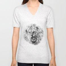 Lion roar G141 Unisex V-Neck