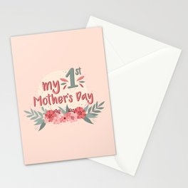 My First Mother's Day Stationery Cards
