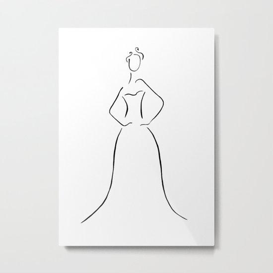 Final Dress Metal Print
