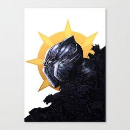 The King of Wakanda Canvas Print