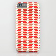 Tribal- Red & White iPhone 6s Slim Case