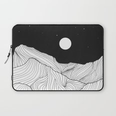 Lines in the mountains II Laptop Sleeve