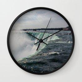Water waterfall 5 Wall Clock