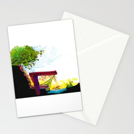 Gypsy River Architectural Illustration 89 Stationery Cards