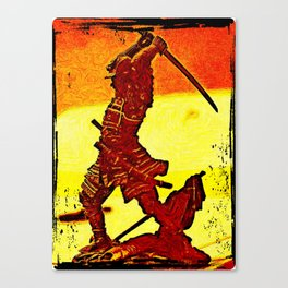 Ronin Red Canvas Print