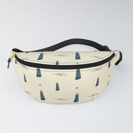 Best printable lighthouse patterns Fanny Pack