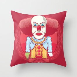 The old derry Throw Pillow