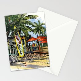 New Pass Grill, Sarasota Stationery Cards