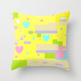 Confetti cake Throw Pillow