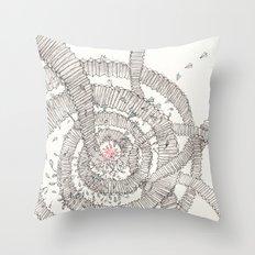 Santa is coming!!! Throw Pillow