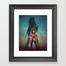 She's Got Your Back Framed Art Print
