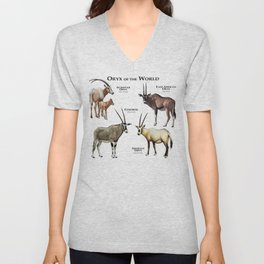 Oryx of the World Unisex V-Neck
