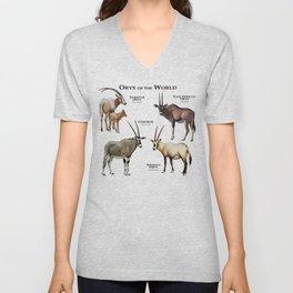 Oryx of the World Unisex V-Neck