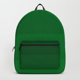 Rich Forest Evergreen Stripes Ombre Backpack