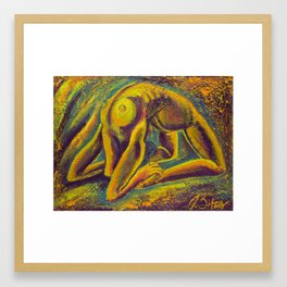 Omicron Framed Art Print