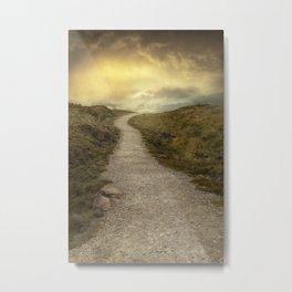 Sunrise over Skye Island Metal Print