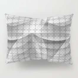 Grey shapes pattern Pillow Sham