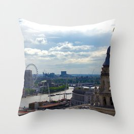 London Skyline 3 Throw Pillow
