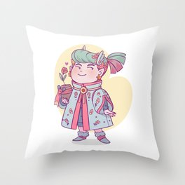 VA Edgar Throw Pillow