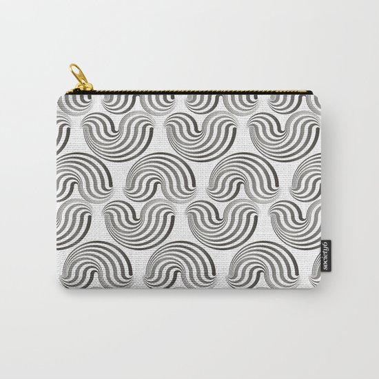 Black and white pattern - Optical game12 Carry-All Pouch