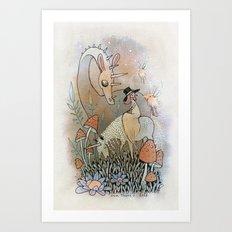 Amanita Art Print