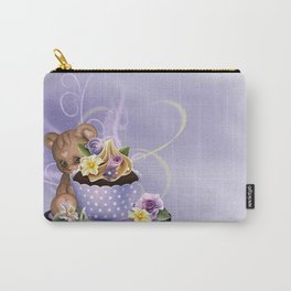 Cupcake Bear Carry-All Pouch