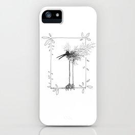 Beard Bird iPhone Case