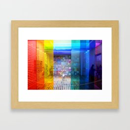 Rainbow Room Framed Art Print