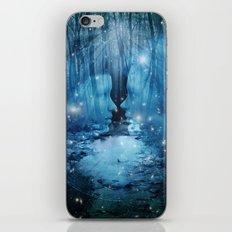 magical wood iPhone & iPod Skin