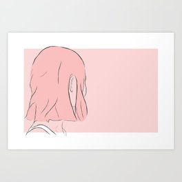 on and on Art Print