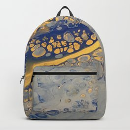 Blue and Gold Backpack