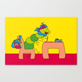 Time for school Canvas Print