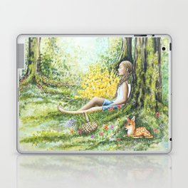 Forest Meditation Laptop & iPad Skin