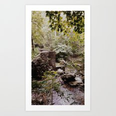 the first time in a long time. Art Print