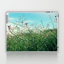 Field Wild Flowers Laptop & iPad Skin