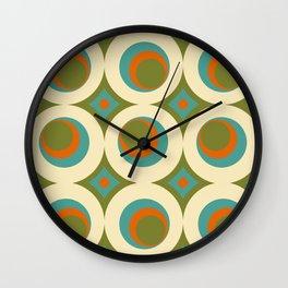 Mid-Century Modern funk 2 Wall Clock