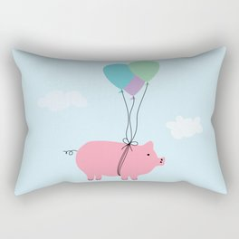 When Pigs Can Fly Rectangular Pillow