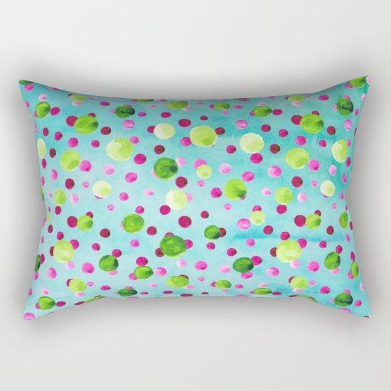 Polka Dot Pattern 09 Rectangular Pillow