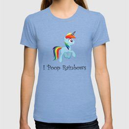 I Poop Rainbows T-shirt