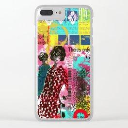 Fashion in Paris Clear iPhone Case