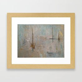 Morning Mist Framed Art Print
