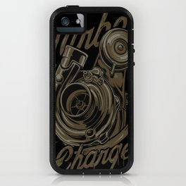 Turbo Charger iPhone Case